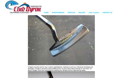 byron morgan putters