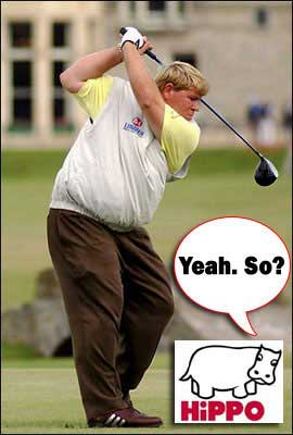 John Daly Hippo Golf