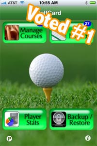 golfcard iphone golf app