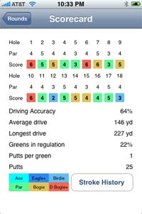 teedroid iphone golf app