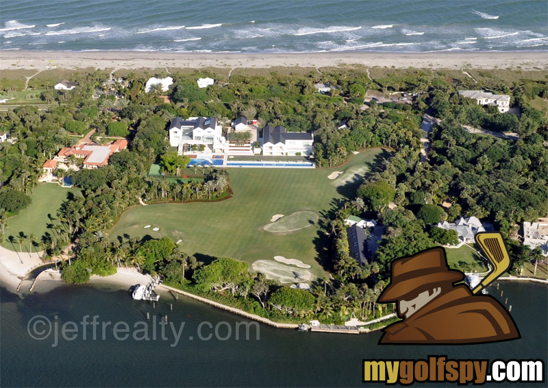 Exclusive Tiger Woods New House In Jupiter