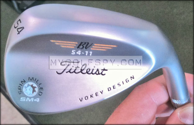 Spotted 2012 Titleist Vokey Sm4 Wedge
