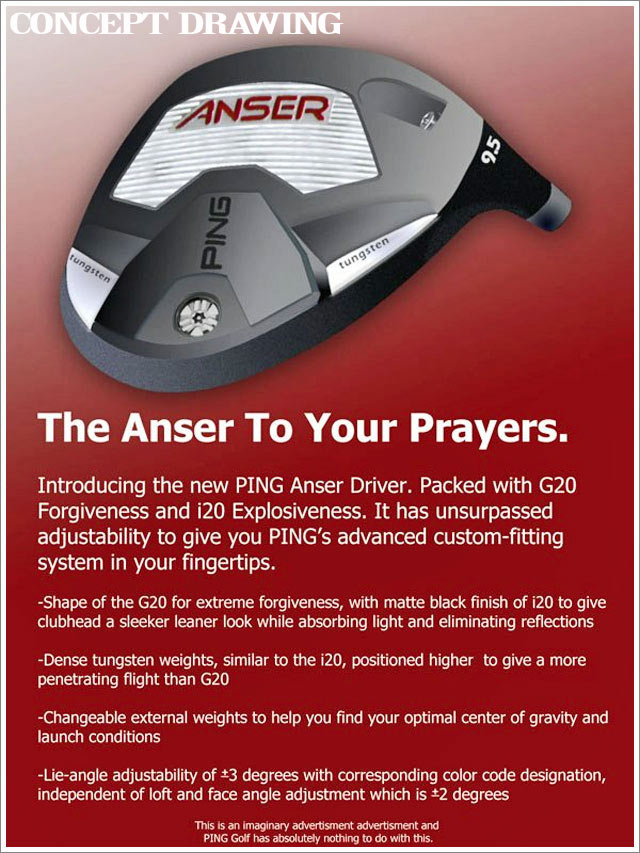 2013 Ping Anser Adjustable Driver