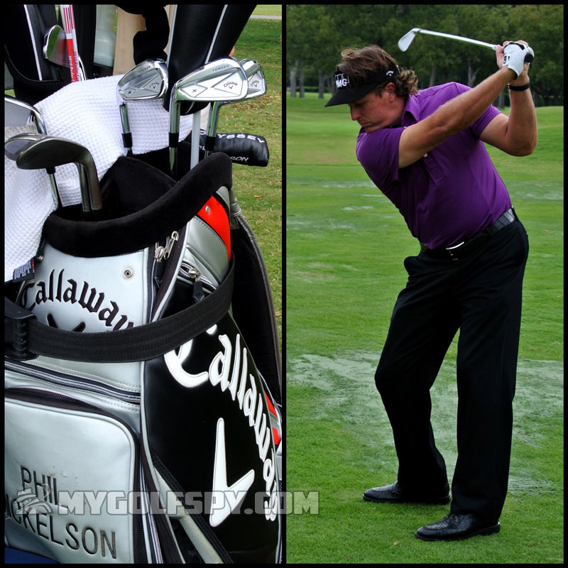 phil mickelson callaway x forged irons