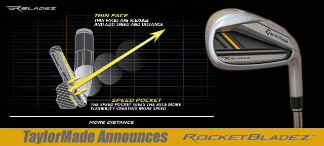 Post image for TaylorMade Announces RocketBladez Irons