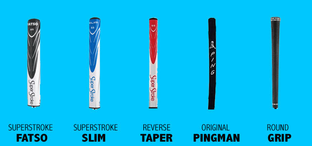 Most Used Putter Grip On Tour