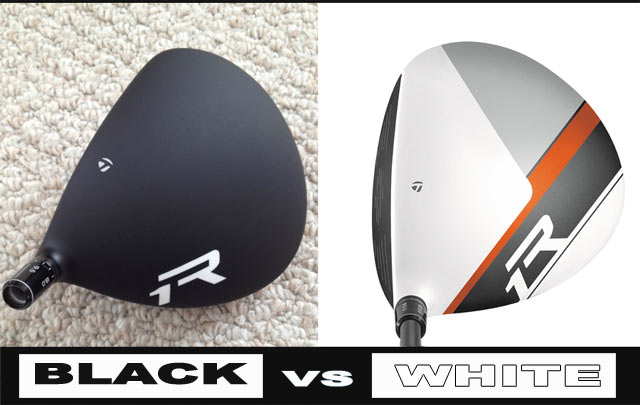 VOTE! – Black Taylormade R1 {vs} White Taylormade R1