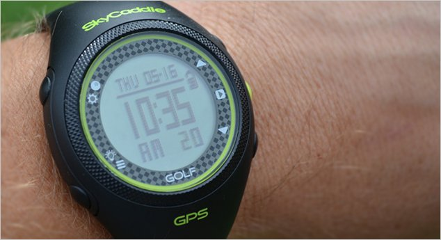 Golf Gadget Review: SkyCaddie GPS Watch