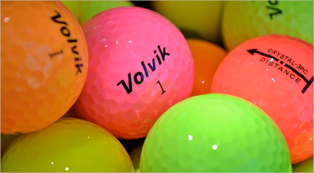Post image for Can Volvik Golf Make 2013 The Year of the Colored Ball?