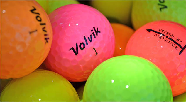 Can Volvik Golf Make 2013 The Year of the Colored Ball?