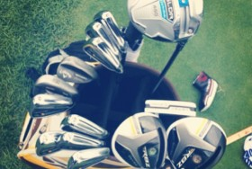 TRUE Linkswear posted this pic of Ryan Moore's bag for the PGA Championship.