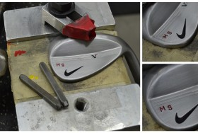 Nike would like you to know that their custom department will stamp your wedges for you.