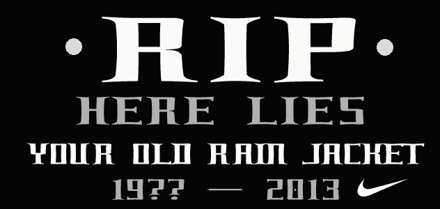 Post image for RIP – Here Lies – Your Old Rain Jacket (19?? – 2013)