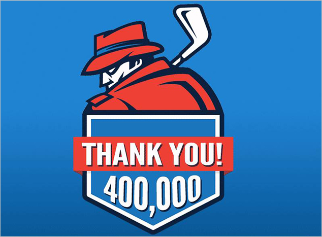 Post image for MyGolfSpy Eclipses Four Hundred Thousand Monthly Reader Mark
