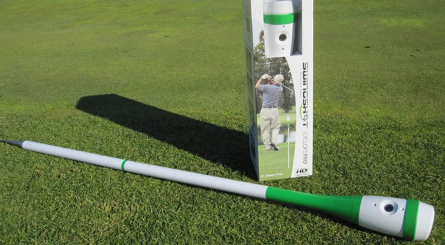Gadget Review: The SwingShot Golf Video Camera