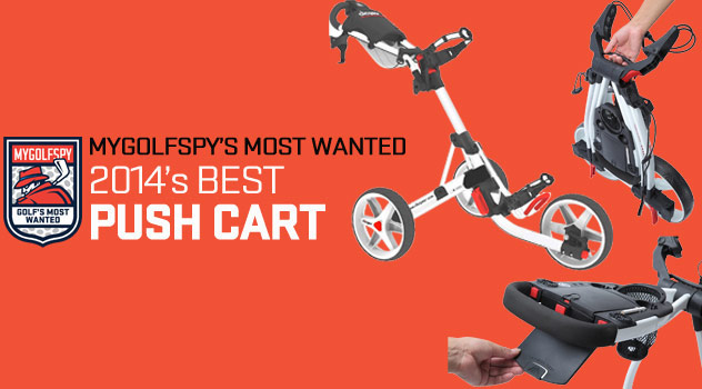 2014 Golf's Most Wanted Push Cart