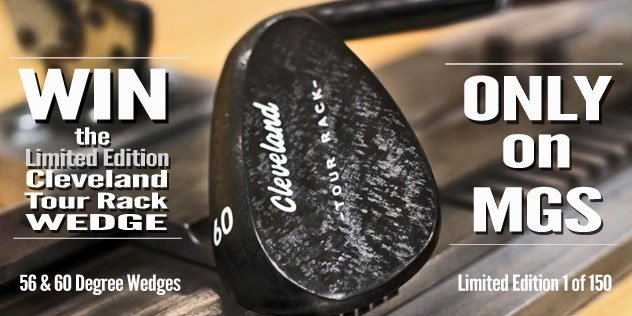 Win a Set of Cleveland Golf Tour Rack Wedges