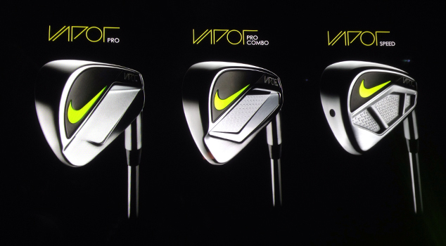 Nike Launches Vapor Series Irons
