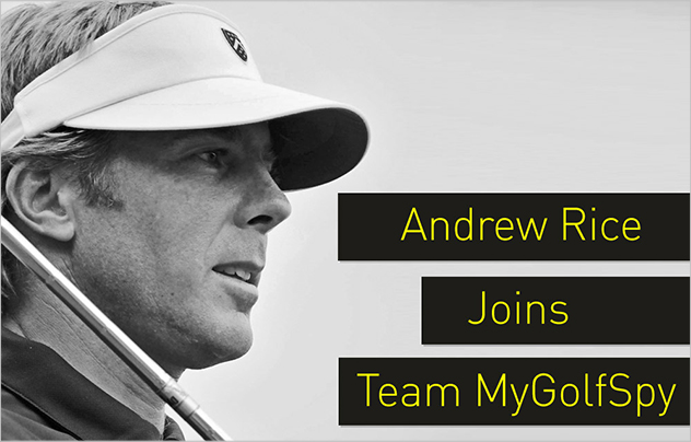 Andrew Rice Joins Team MyGolfSpy