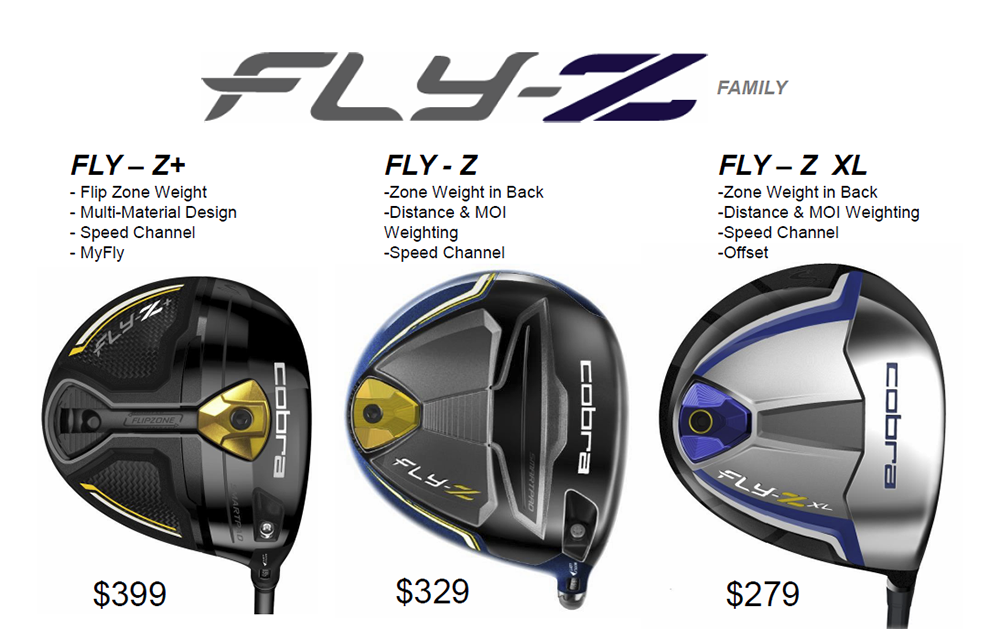 Cobra Fly Z Drivers