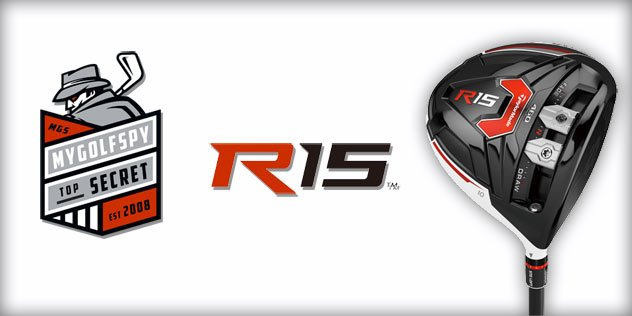 SPY PICS – 2015 Taylormade R15 Driver
