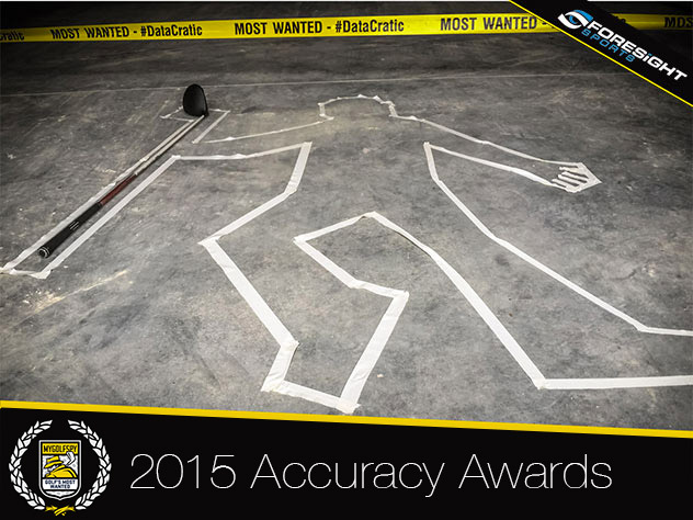 2015 Most Wanted Driver – (Accuracy Awards)