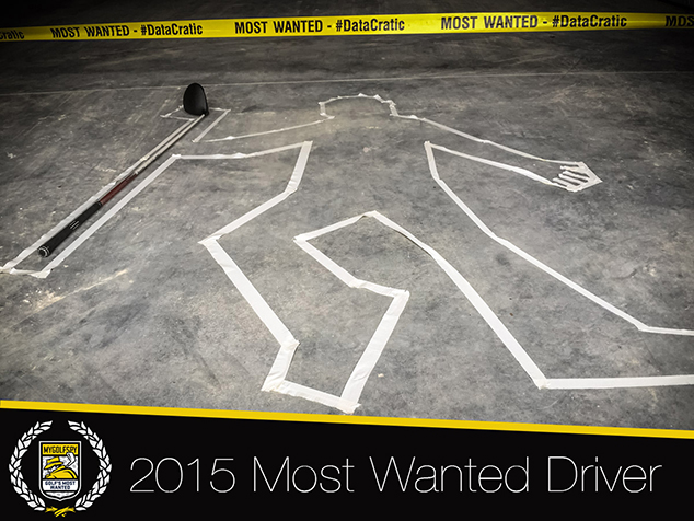 2015 Most Wanted Driver – (Overall Awards)