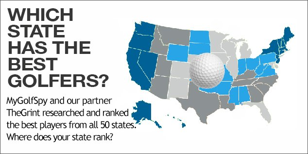 Study: Golfer Performance By State