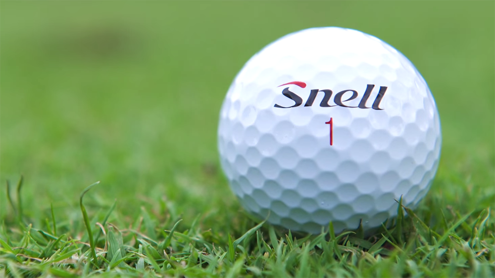 what makes snell golf balls so good  the answer is simple