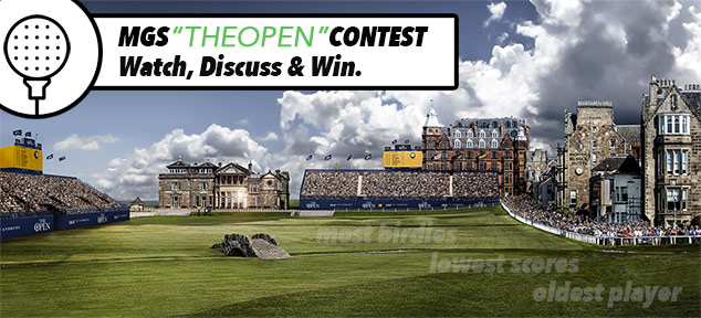 The Open Championship – Watch, Discuss, Win