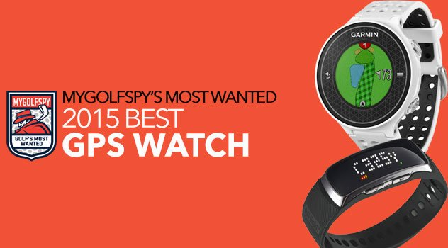 2015 Most Wanted Golf GPS Watch