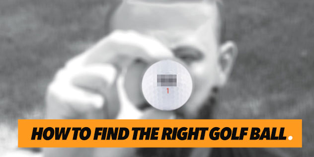 How To Find the Right Golf Ball