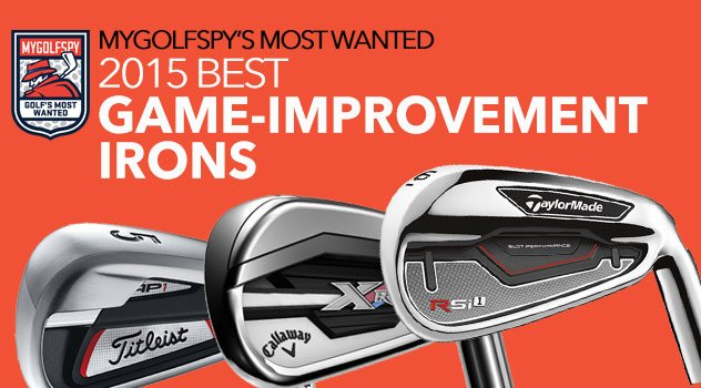 2015 Most Wanted Game-Improvement Irons