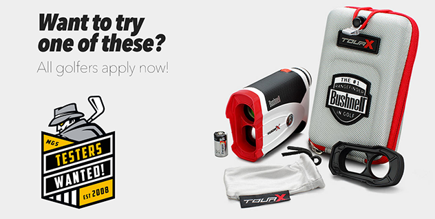 TESTERS WANTED! –  BUSHNELL TOUR X LASER RANGEFINDERS
