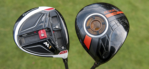 Tested: Cobra KING LTD vs. TaylorMade M1