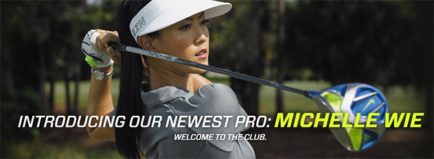 Michelle Wie and Her Blue Driver Join Team Zepp