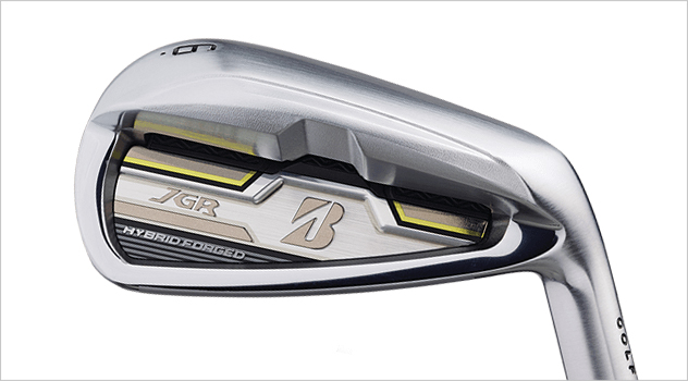 First Look: Bridgestone's New JGR Forged Hybrid Irons