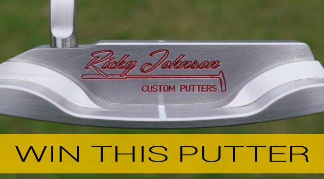 Contest: Win a Custom Ricky Johnson Putter