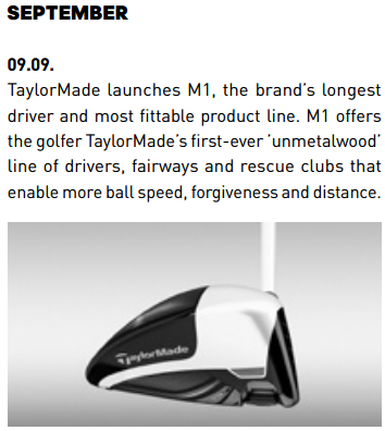 Report: TaylorMade Sales Decline for the 3rd Straight Year