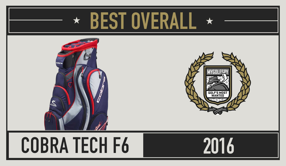 The Best Rated Golf Cart Bags 2016 - MyGolfSpy