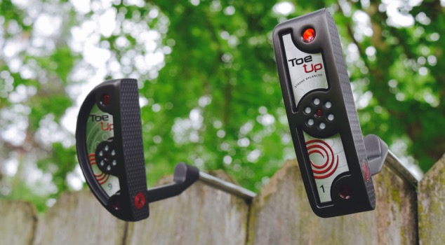 Review: Odyssey Toe Up Putters