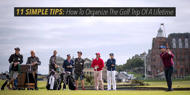 How to Organize the Perfect Golf Trip to the UK or Ireland