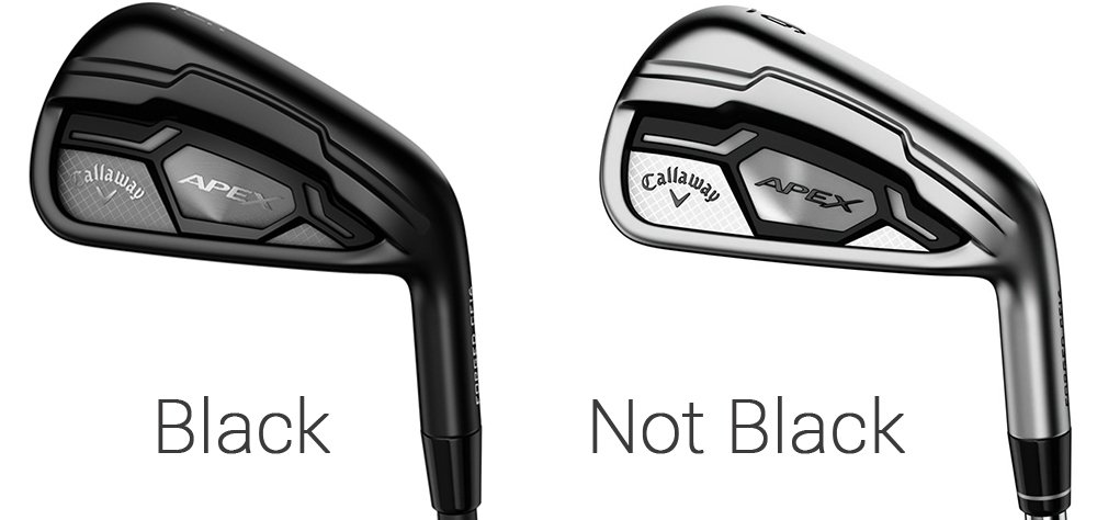 From A Design And By Extension Performance Standpoint It S Exactly The Same Iron As Current Apex But With New Finish
