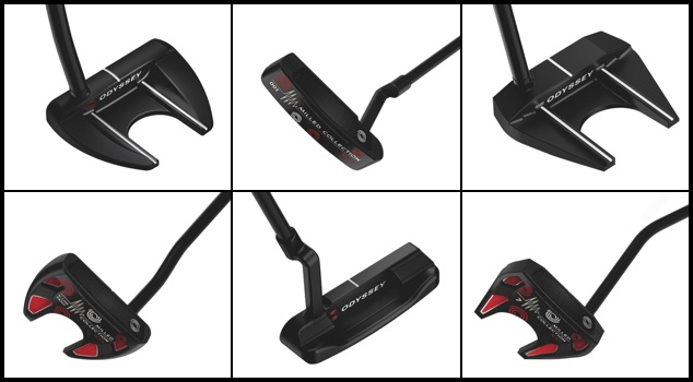 First Look: Odyssey Milled Collection RSX Putters