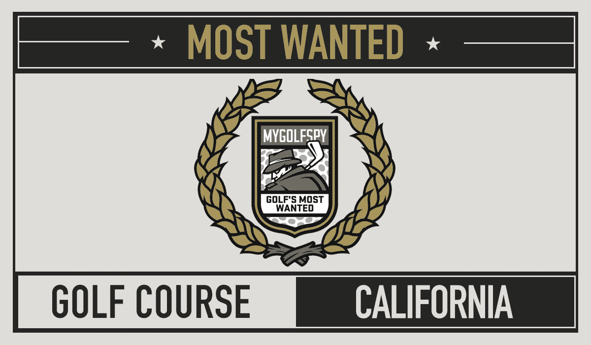 2016 Most Wanted Golf Course – California