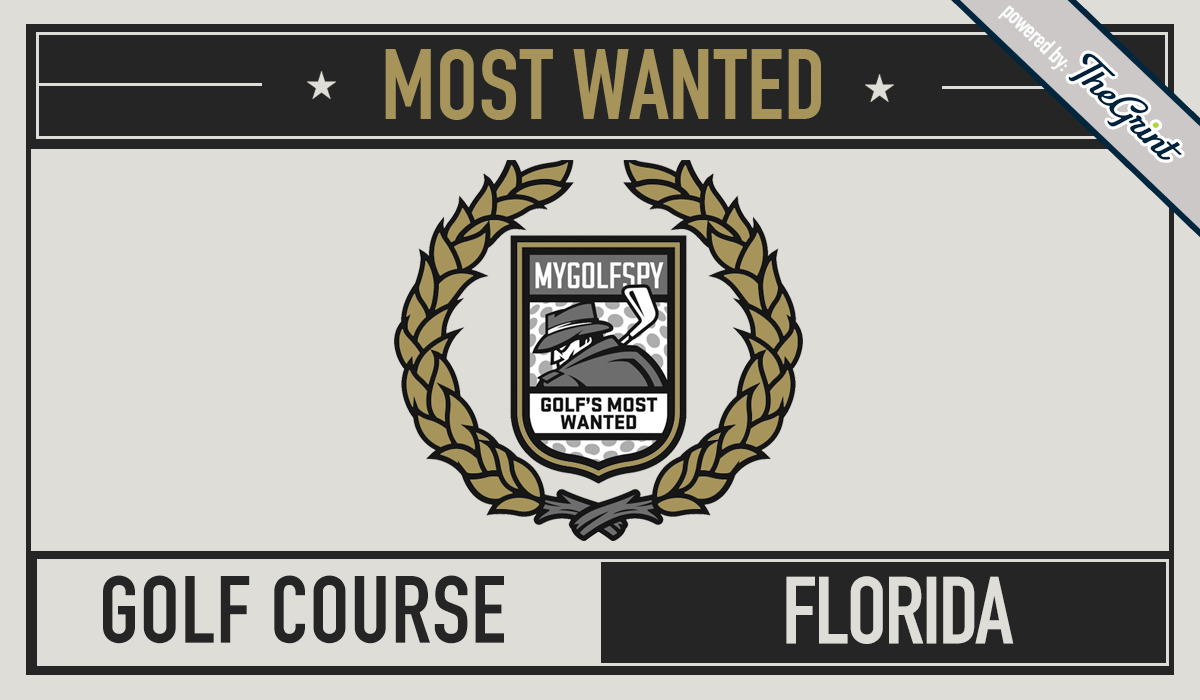 2016 MOST WANTED GOLF COURSE – FLORIDA