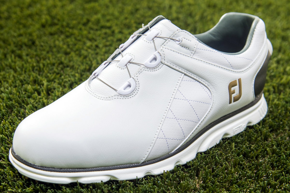 Uk Made Leather Golf Shoes Spiked