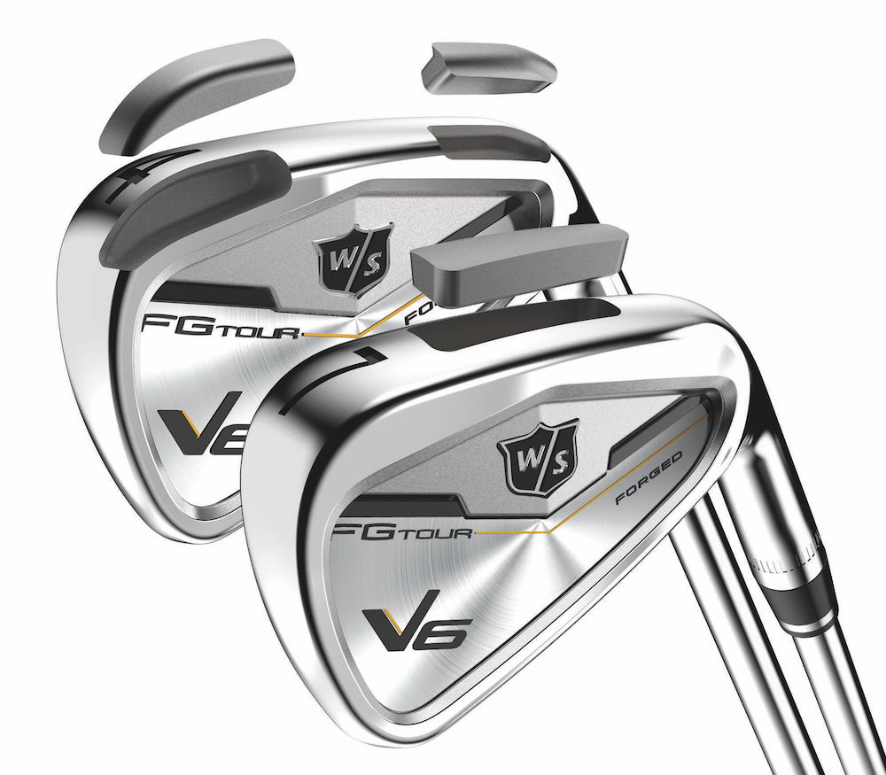 TUNGSTEN SOLE WEIGHT Lowers center of gravity to increase launch angle. OPTIMIZED SOLE CAMBER Improves turf interaction and control from all lies. MASS IN IMPACT AREA Maintains a solid, muscle back blade-like feel and provides workability on center and close-to-center impacts.