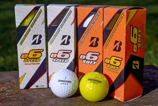 FIRST LOOK: Bridgestone e6 SOFT and e6 SPEED Golf Balls