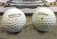Thumbnail image for Kirkland Signature (vs) Titleist Pro V1